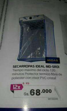 Secarropas Ideal ME-SR01